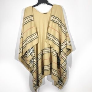 British Plaid Blanket Scarf